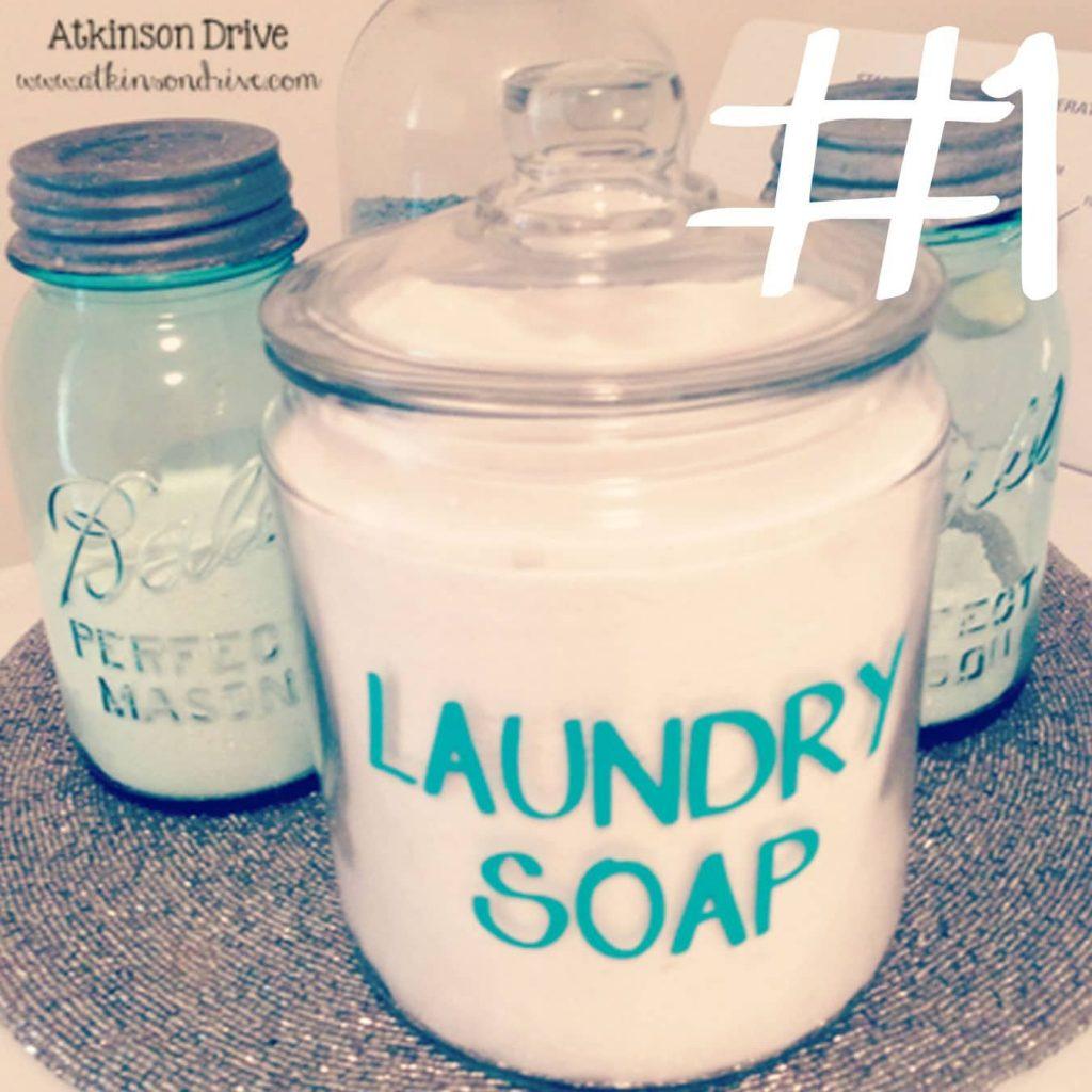 Homemade Laundry Soap | Atkinson Drive