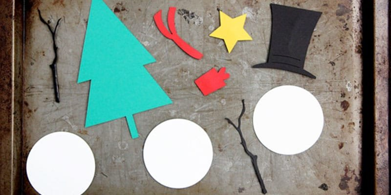 Magnetic Christmas Kids Craft