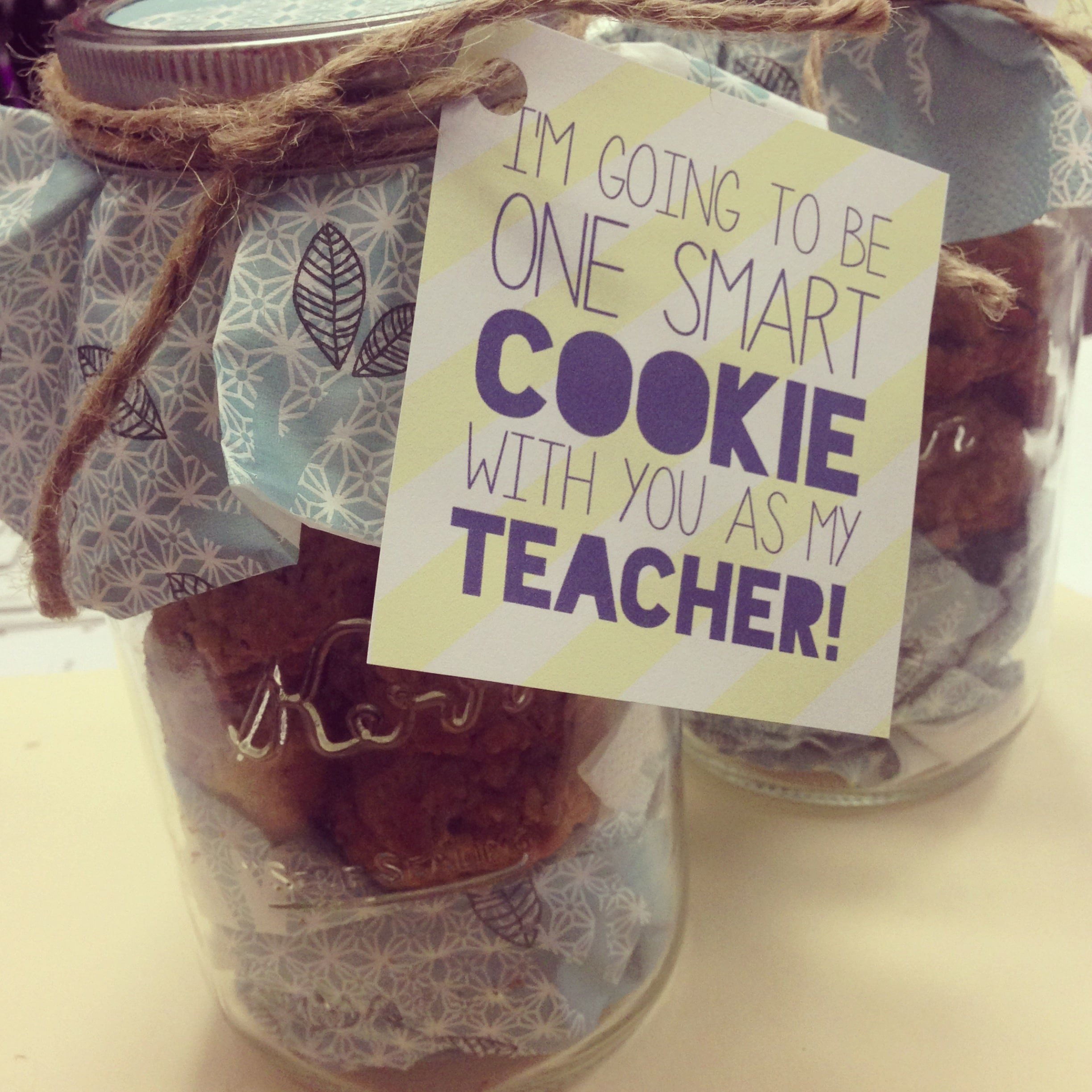 "A ""Sweet"" Teacher Gift"