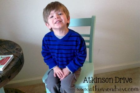 Dip-Painted Chair | Atkinson Drive