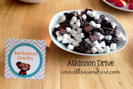 Lorax Party Food | Atkinson Drive