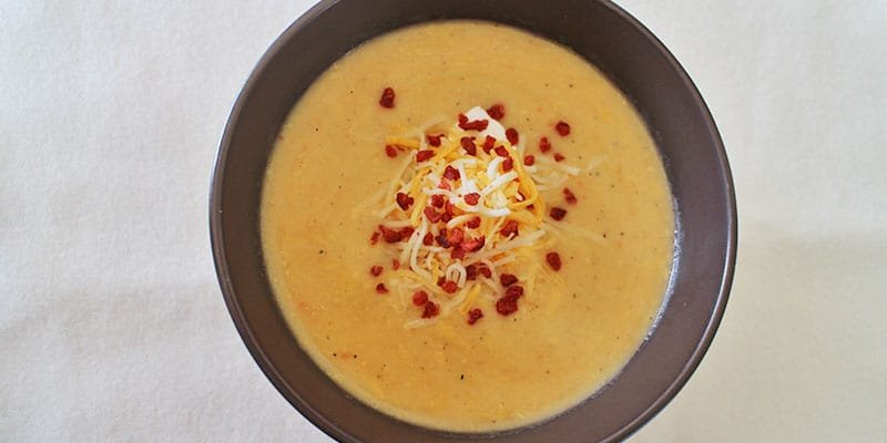 Easy Beer Cheese Soup (with Bacon) Recipe