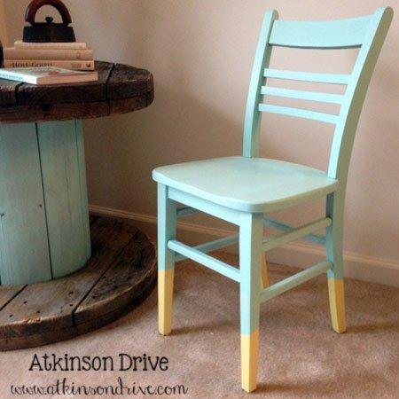 Dip-Painted Chair