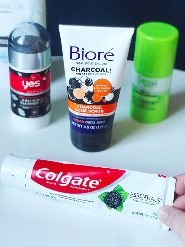 My five favorite charcoal products that you can find locally and on a budget!