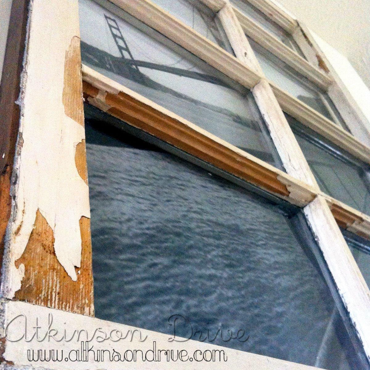 Vintage Window Photo Frame