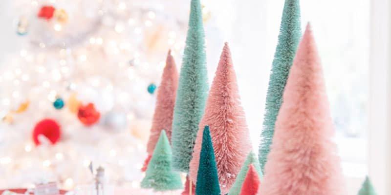 Whimsical wonderland Christmas table setting