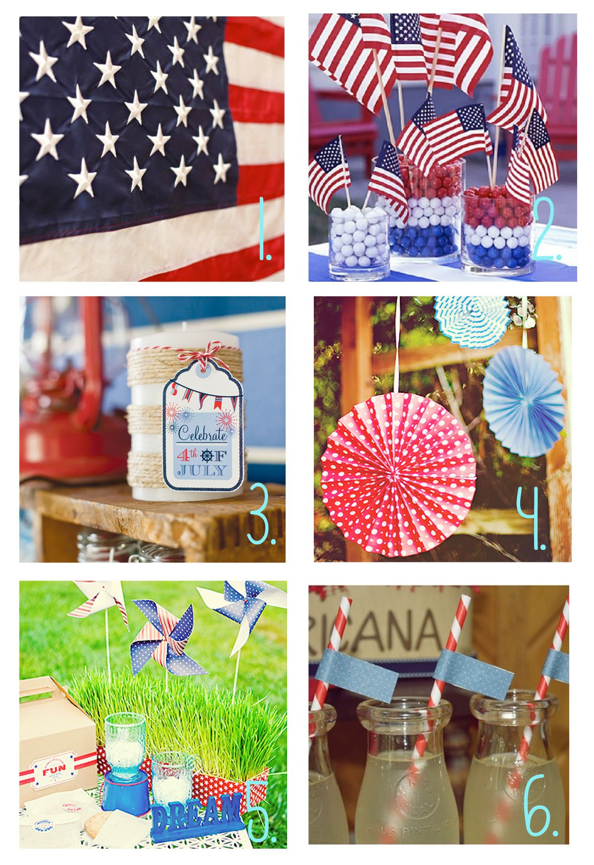 4th of July Food & Decor Series Round-Up