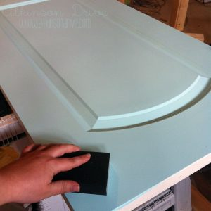Take your doors from drab to fab with this simple tutorial for painting and distressing interior doors. Use this technique anywhere for a fun pop of color and interest!