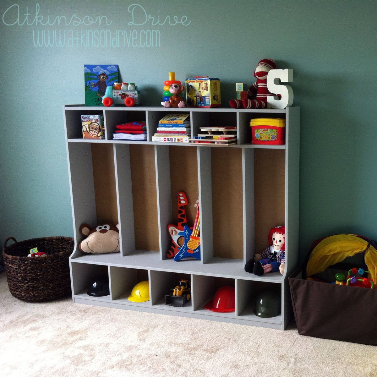 Kids Toy Storage Re-Vamp