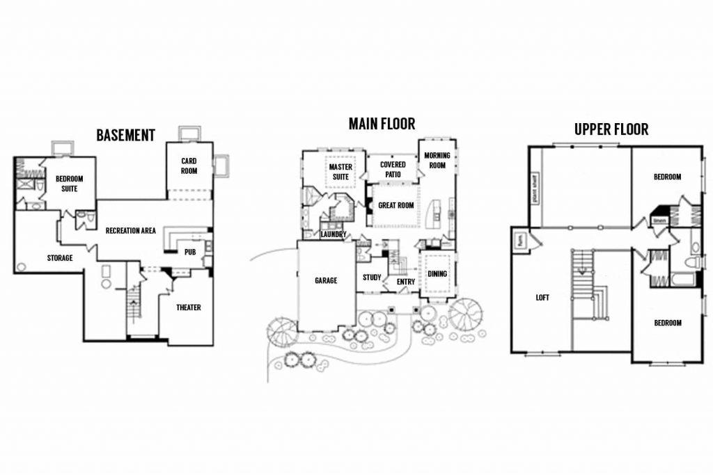 Home-a-Rama 2014: M/I Homes Floor Plan   Atkinson Drive