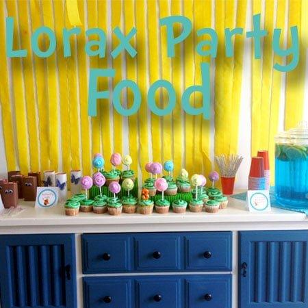 Lorax Birthday Party Food