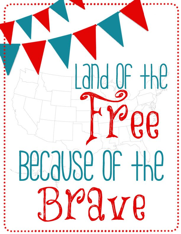4th of July Food & Decor Series: {Patriotic} Printables
