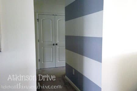 Striped Hallway | Atkinson Drive