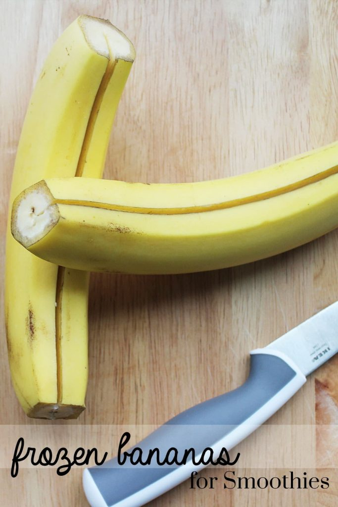 Make the perfect creamy smoothies by making your own frozen bananas using these helpful tips!