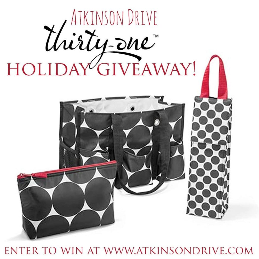 A 31 Giveaway | Atkinson Drive