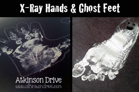 Ghost Feet & X-Ray Hands