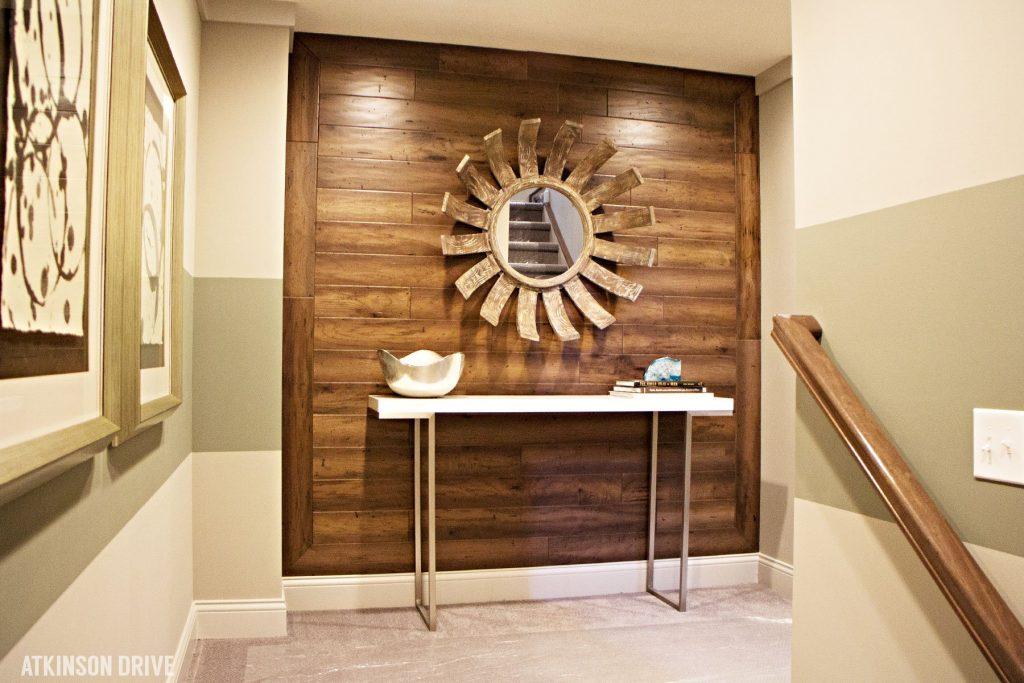 Home-a-Rama 2014: Basement foyer   Atkinson Drive