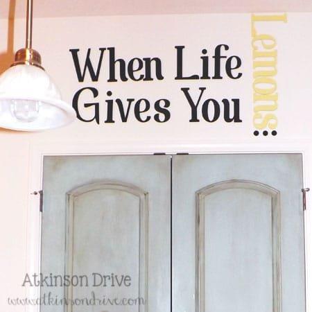 'When Life Gives You Lemons...' Kitchen Art | Atkinson Drive