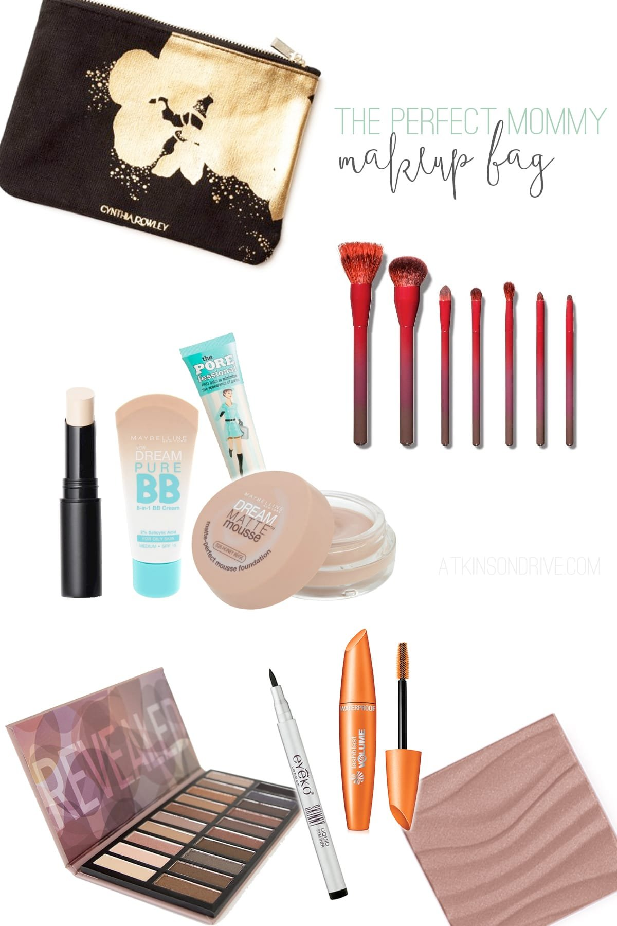 The Perfect Mommy Makeup Bag