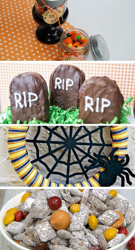 Spruce up your Halloween game with these fun features from the Pinworthy Projects Link Party! /// Atkinson Drive