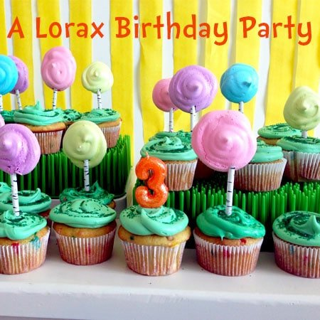 A Lorax Birthday Party