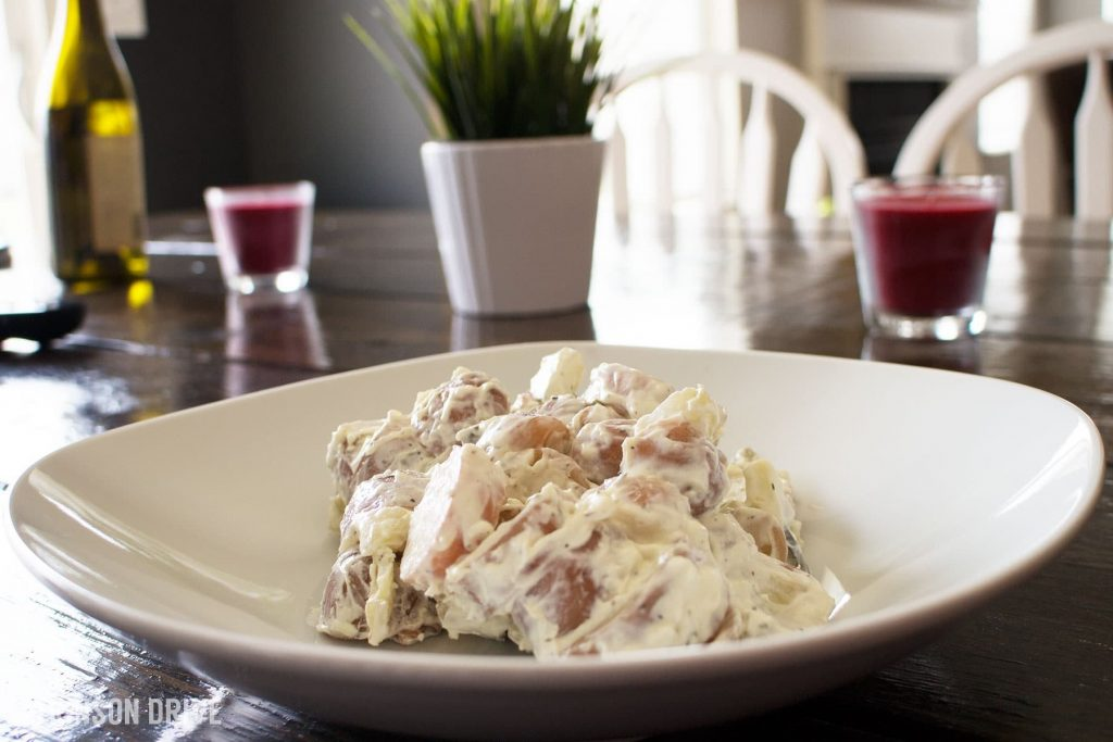 Red Potato Salad (the best you'll ever have) | Atkinson Drive