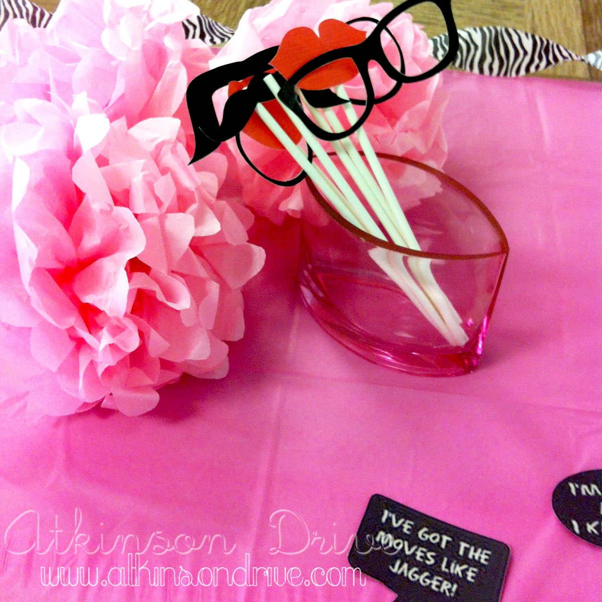 Party Photo Booth {with FREE downloads}