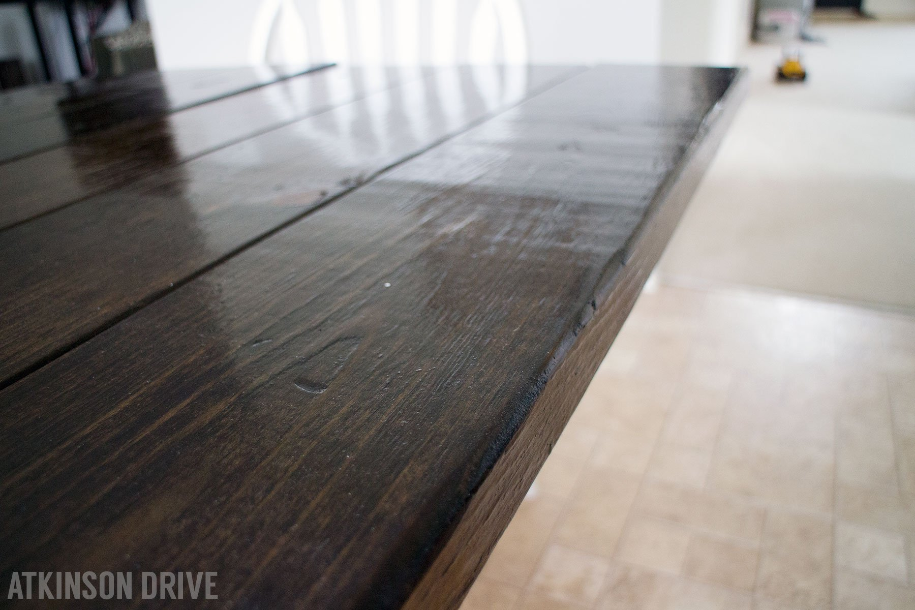 Rustic Dining Table Transformation (and GIVEAWAY)