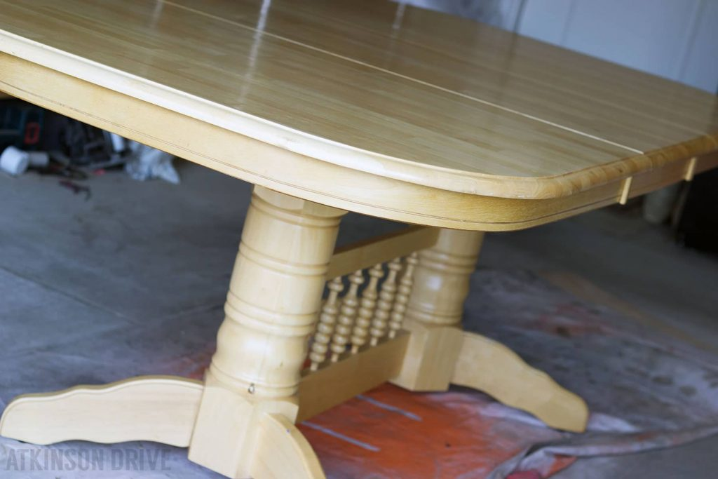 Dining Table Transformation | Atkinson Drive