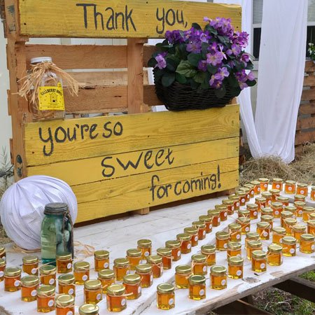 """""""You're So Sweet For Coming"""" - Honey Favors 
