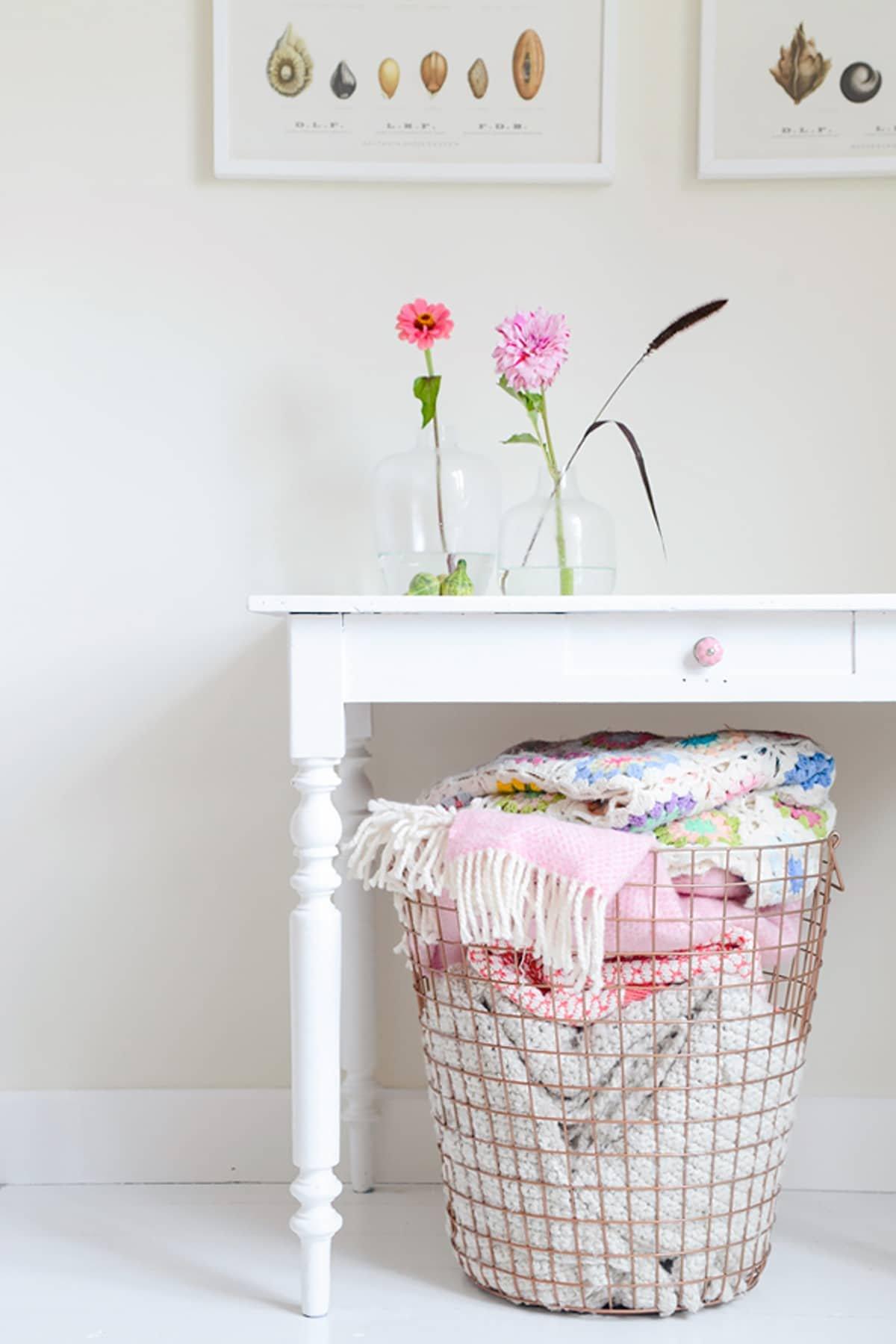 Storage in kids' rooms is a must ... but that doesn't mean it can't be stylish!