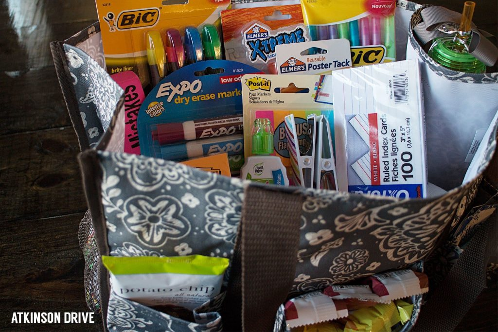 Back to School: Teacher Survival Kit (and a 31 Giveaway)   Atkinson Drive
