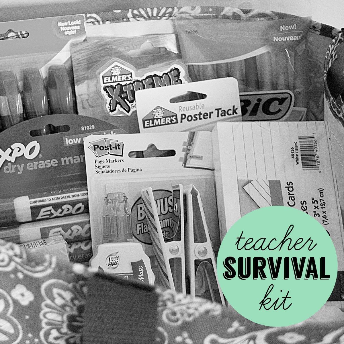 Back to School: Teacher Survival Kit (and 31 Giveaway)
