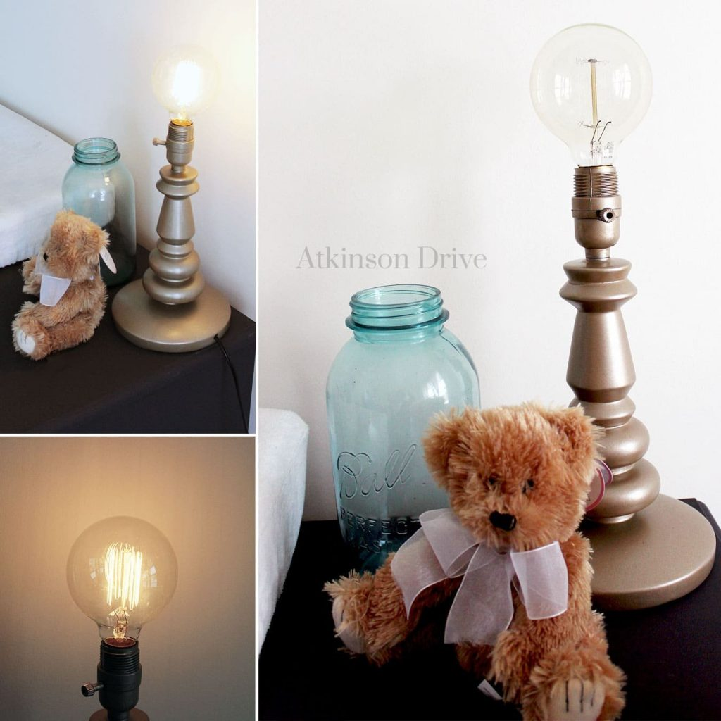 Metallic Edison Bulb Lamp | Atkinson Drive