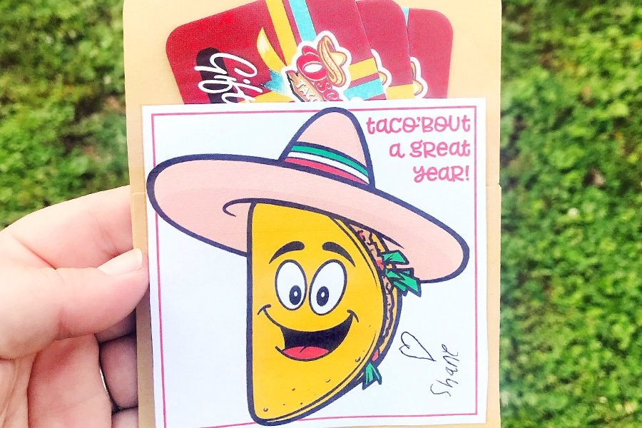 Taco'Bout a Great Teacher Gift!