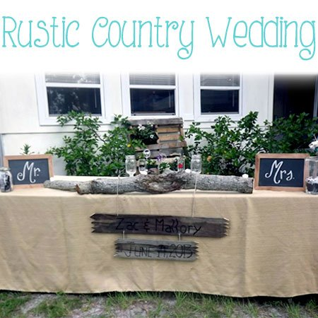 A Rustic Country Wedding | Atkinson Drive
