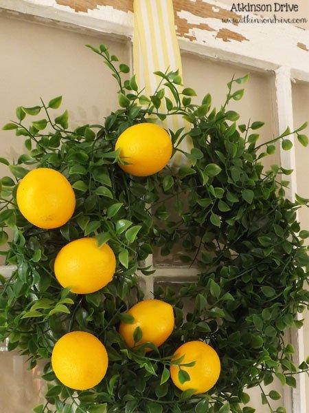 Blast from the Past: Lemon Wreath