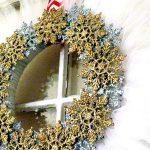 Tulle & Snowflake Winter Wreath | Atkinson Drive