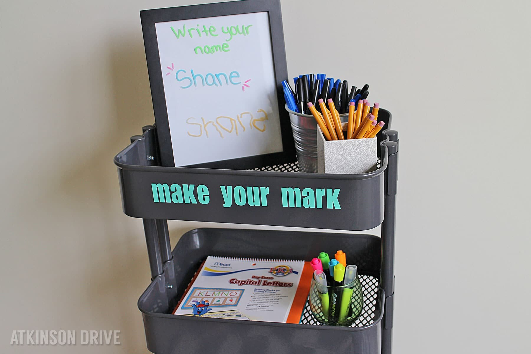 Back-to-School: Creative Writing Cart